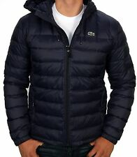Lacoste Men's Packable Down Jacket BH2533-51 423 Navy Blue NWT Authentic