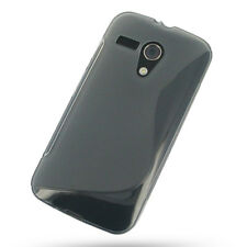 TPU Gel Cover Skin Case for Motorola Moto G, DVX , XT1032 +Screen Protector