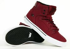 Supra Kid's Laced Skateboard Sneakers Vaider S11222K New With Box Authentic