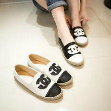 Gladiator stylish women casual loafer new logo channel working shoes flats