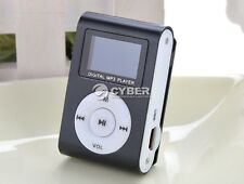 Support 32GB Slim Mp3 Player with LCD Digital Screen, FM Radio