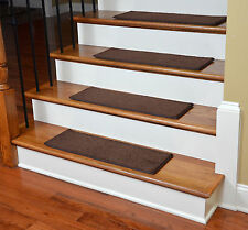 "Dean DIY 27"" x 9"" Imperial Carpet Stair Treads - Color: Walnut"