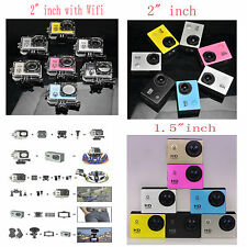 Wifi 12MP HD 1080P Waterproof Camera Camcorder Sports For Surfing Bike Skating