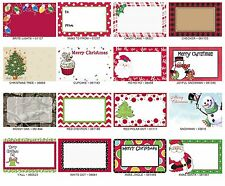 "100 ~XMAS ENCLOSURE FLORAL GIFT CARDS~ 2 1/4""h X 3 1/2""w ea ~YOUR CHOICE~ NEW!"