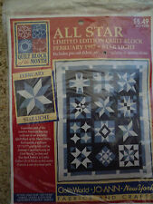 All Star Quilt Blocks from Jo Ann Block of the Month