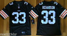 Trent Richardson Cleveland Browns Nike Mens Brown Sewn Jersey NWT