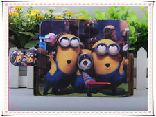 HOT Colourful Funny lovely Despicable me PU LEATHER FLIP Case COVER for Nokia