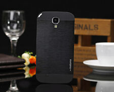 Brushed Aluminum Metal back Cover phone case For Samsung Galaxy mini S4 i9190 O