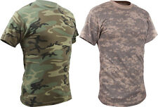 Mens Camouflage Vintage Military Camo Tee T-Shirt