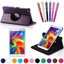 360 Rotating PU Leather Cover For Samsung Galaxy Tab 4 8.0 Case SM-T330 T337