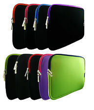 Neoprene Sleeve Zip Case Cover for 11.6 - 12.5 Inch Chromebook Laptop & Stylus