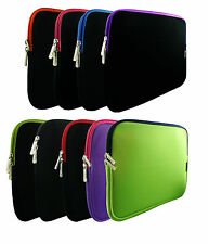 Soft Neoprene Sleeve Zip Case Cover 11.6 - 12.5 Inch Chromebook Laptop & Stylus