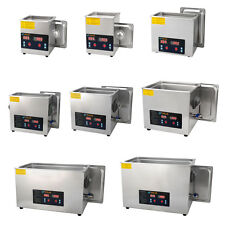 CHOOSE SIZE Solid Tech Ultrasonic Cleaner Industrial Timer Parts Tools Jewelry