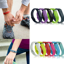 Large L Small Replacement Wrist Band & Clasp for Fitbit Flex Bracelet Wristband