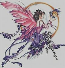 DRAGON FAIRY # 3 - CROSS STITCH CHART