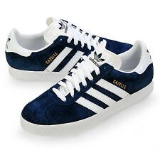 Adidas Gazelle Navy White Suede Men's Sneakers New In Box 100% Authentic 034581
