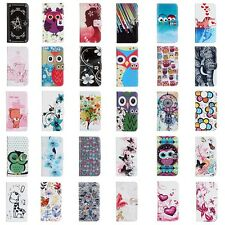 Fashion Flip PU Leather Wallet Card Holde Stand Cell Phone Case Cover For Huawei