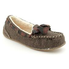 Rocket Dog Regan Womens Fabric Moccasin Slippers Shoes
