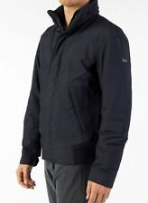"NWT HUGO BOSS BLACK ""CHERKIN"" MENS WINTER JACKET NAVY $445+ Sz US 40R, 42R"