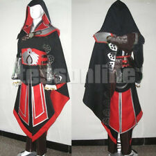 Assassin's Creed Brotherhood Ezio Anime Cosplay Costume Men Women Children Gift