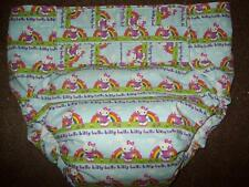 Dependeco All In One cloth adult baby diaper S/M/L/XL  ( rainbow hello kitty)