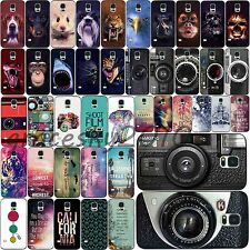 Various Retro Animal Scenery Painted Hard Cover Case For Samsung Galaxy S3 S4 S5