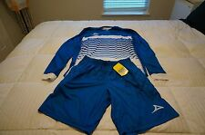 Pirma Leon Goalie Kit-Jersey and Shorts-BLUE