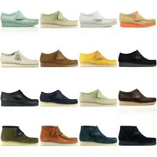 CLARKS ORIGINALS WALLABEES - VARIOUS COLOURS - BLACK, EBONY, COLA, LEATHER BNIB