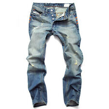 2014 New Arrival Jeans Mens Designed Washing Jeans Pants Denim Stylish Trousers