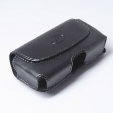 Leather Holster Cover Case Pouch Clip for Cell Phones (Fits w Otterbox Case On)