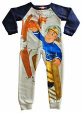 Fireman Sam Onesie 2 to 6 Years  Fireman Sam All In One Fireman Sam Pyjamas Blue