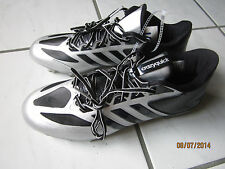 Adidas  Crazy Quick Football  man black/silver cleats shoes  Brand  New