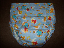 Dependeco All In One cloth adult baby diaper S/M/L/XL  (sesame street babies)