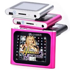 Slim 6th 1.8in LCD Digital MP3/MP4 Video FM Radio Player for 2GB-16GB SD/TF Card