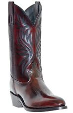 NEW Mens Laredo London Leather Black Cherry Western Cowboy Boots Style 4216