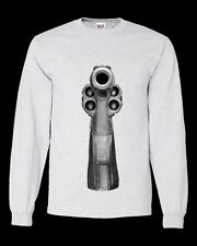 38 Revolver Crewneck Sweatshirt Pistol Smith & Wesson