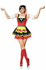 Swedish Sweetie Sexy Bar Maid Oktoberfest Hunny Womens Halloween Costume S-L