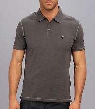 NWT more sizes - JOHN VARVATOS STAR USA - Peace Sign Thunder Grey POLO was $78
