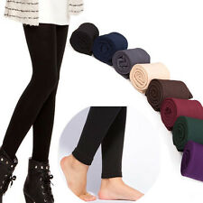 Casual Lady Fleece Bodycon Pants 5Color Winter Warm Stretchy Velvet Leggings ARE
