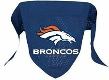 NEW DENVER BRONCOS PET DOG MESH JERSEY BANDANA ALL SIZES LICENSED