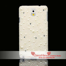 For Samsung Galaxy Bling Handmade Luxury Mixed Pearl Crystal Cute Case