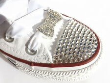 Stunning Large Crystal Bow Shoe Charms ideal to Pimp Up your Blinged Converse