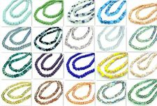 20pcs Faceted Rondelle crystal glass Loose beads 8mm Multicolor