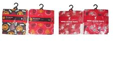 MENS LOUNGE PANTS 2 PACK  MANCHESTER UNITED OR LIVERPOOL  S M L & XL