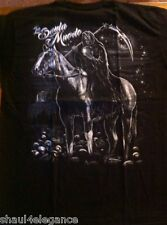 Santa Muerte a Caballo two side print NEW 100% Cotton NEW Urban Grim Reaper