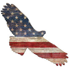 American Flag Eagle Wall Decal