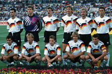GERMANY WORLD CUP 1990 SQUAD 02 PHOTO PRINT