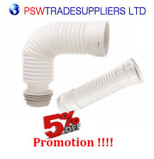 WC Flexible Toilet  Waste 150mm-450mm, Flexi Pan Connector Soil Pipe 150mm-450mm