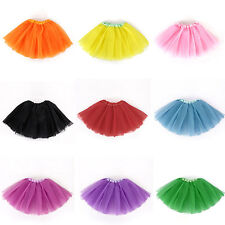 Baby Kid Girls  Infant Tutu Dancewear Skirt Ballet Dress Party Clothes Costume