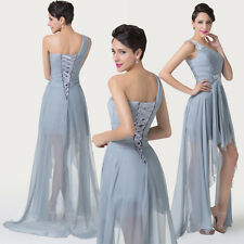 Charm High-Low Homecoming Party Bridesmaid Long Formal Evening Prom Dresses Gown